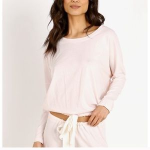 Eberjey Pale Pink Slouchy Top